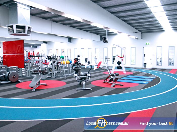 Genesis Fitness Clubs Indoor Running Track Maidstone 120