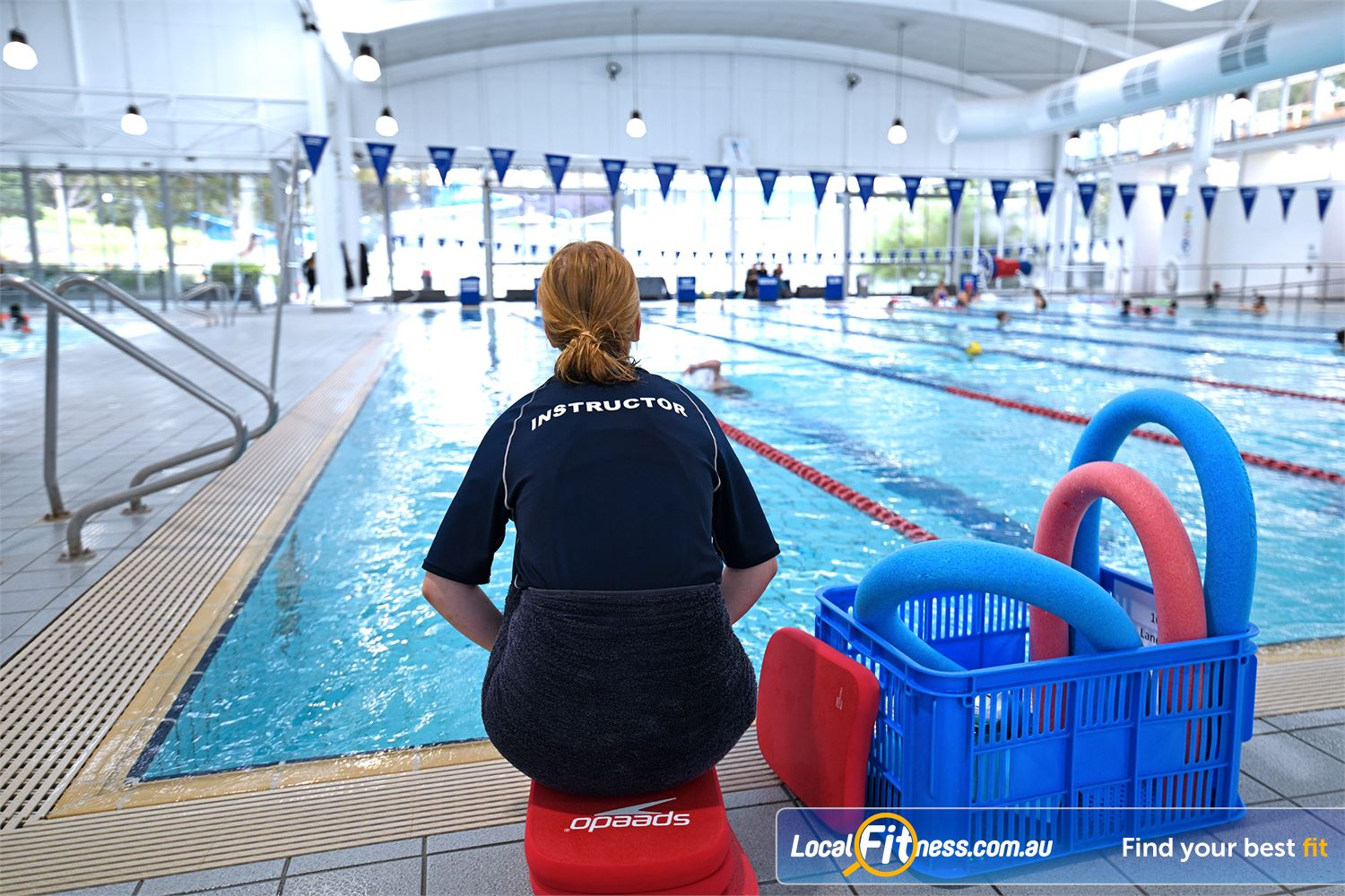 4072800495d79a Friendly and Qualified Instructors Teach Our Learn to Swim Programs.