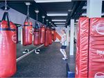 Goodlife Health Clubs Cross Roads Westbourne Park Gym Boxing Hanging heavy duty boxing / kick