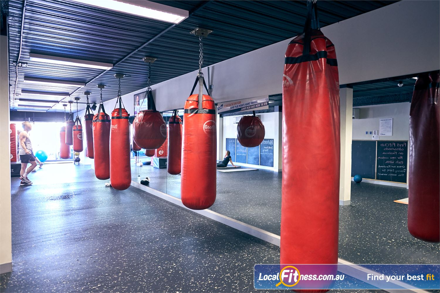 Goodlife Health Clubs Cross Roads Near Hawthorn Dedicated Westbourne Park boxing and circuit studio.
