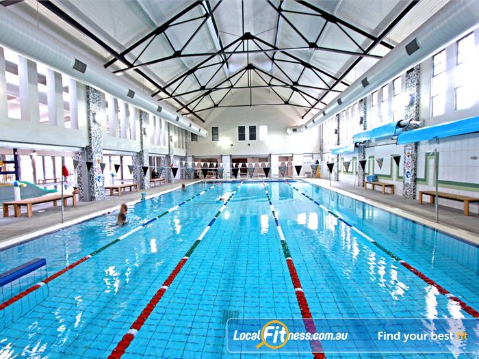 Brunswick Baths Swimming Pool Melbourne  | The new facelift to the Brunswick swimming pool.