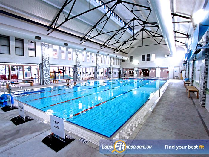 Brunswick Baths Swimming Pool Melbourne  | The program pool provides activities for the whole