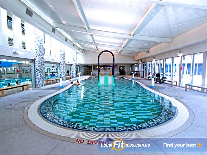 Brunswick Baths Swimming Pool Melbourne  | An interactive aquatic space for families and children.