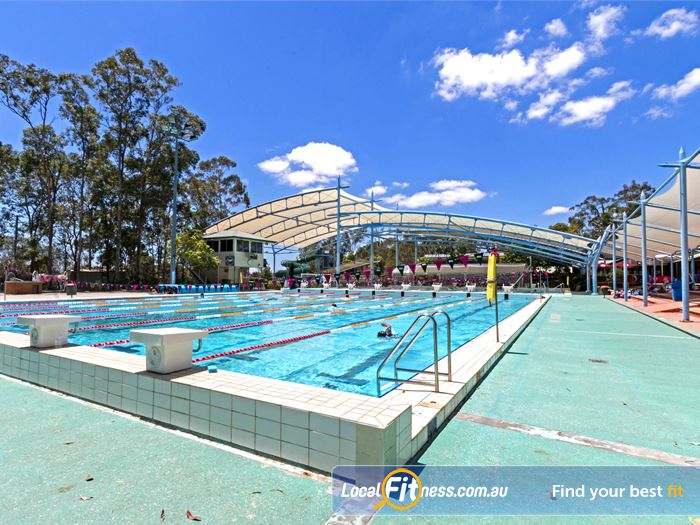 Albany Creek Leisure Centre Swimming Pool Brisbane    The heated outdoor 50m Albany Creek swimming pool.