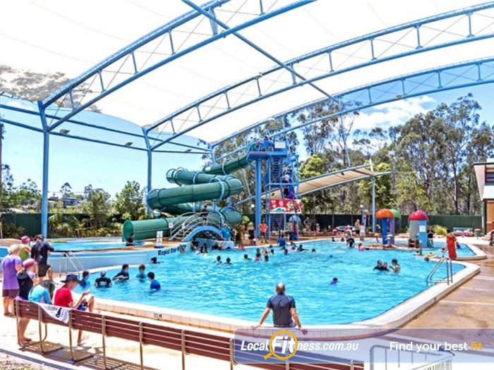 Albany Creek Leisure Centre Swimming Pool Kelvin Grove  | Enjoy the Outdoor Water Slide and Rapid River