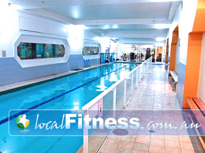 Body Express Gym Near North Bondi Heated Bondi swimming pool with sauna facilities.