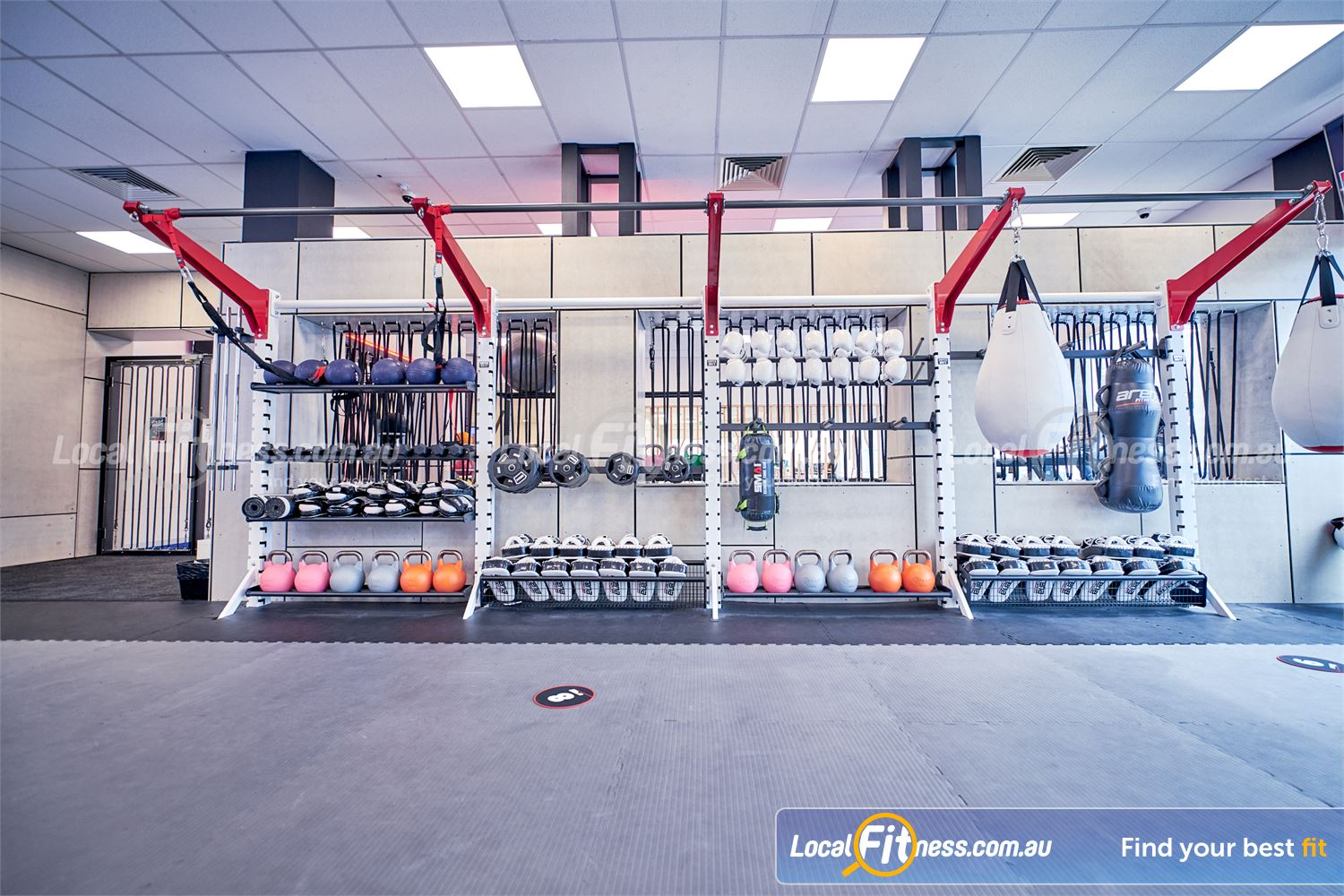 Goodlife Health Clubs Knox City Near Wantirna Coach-led HIIT and functional training classes in Wantirna South.