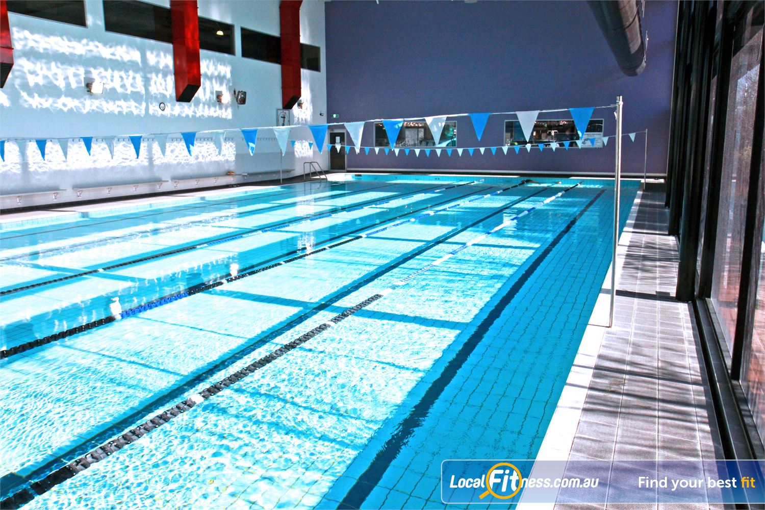 Goodlife Health Clubs Cannington 1 of only a few Goodlife Clubs in WA to have an indoor swimming pool.<br />
