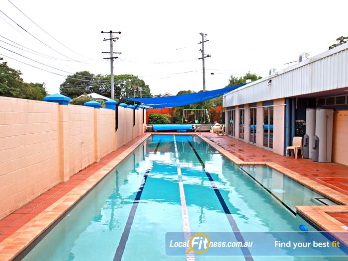 Goodlife Health Clubs Swimming Pool Kelvin Grove  | 25m outdoor Morningside swimming pool.