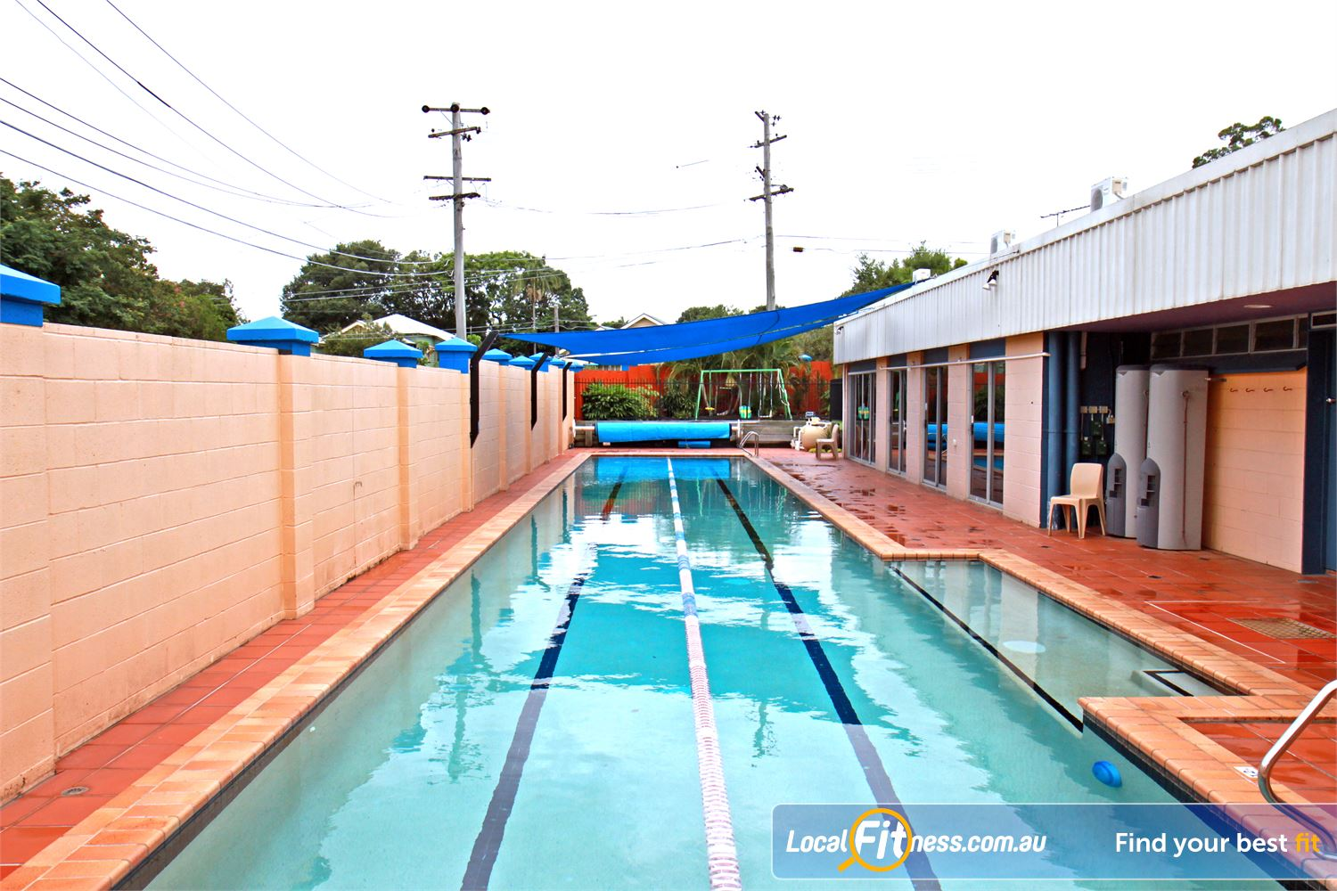 Goodlife Health Clubs Morningside 25m outdoor Morningside swimming pool.