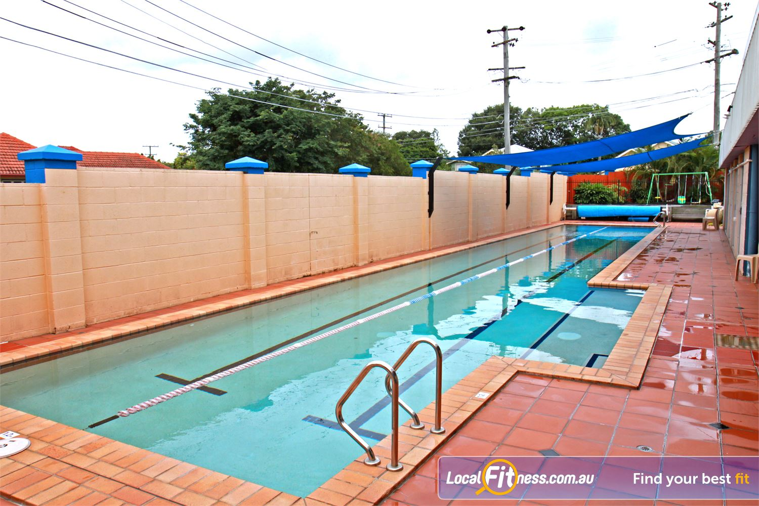 Goodlife Health Clubs Near Balmoral The Morningside swimming pool provides 2 lanes, perfect for lap swimming.
