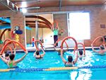 Aqua Achievers A fun class with social emphasis involving gentle exercise to