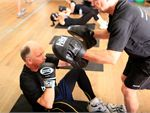 Boxing Fitness A boxing session focused on keeping your heart pumping.