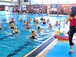 Aqua Movers Water exercise is an excellent way for individuals of all