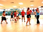 Boxing Highly motivating boxing class, which is your opportunity to hit