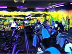 Cycle A very high intensity, lower body workout performed purely on