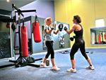 Fighting FIT A boxing style workout incorporating impact and circuit training to
