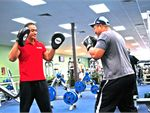 Boxing An all-over cardio workout including muscle conditioning, use of boxing