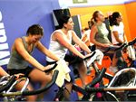 Box / Run Club Stationary indoor cycling class inorporating boxing and running. Ride the