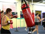Cardio Boxing A traditional boxing workout utilising all the boxing equipment, combined