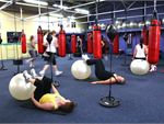 Rubber meets Metal What a great class! Grab a FITball and some free
