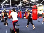Total Body Workout Total body conditioning class combining free weights and a step