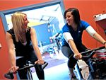 Virtual Cycle Indoor cycle class. Ride our virtual city.