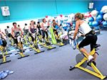 Cycle A stationary bike ride that takes you on a journey