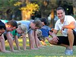 Outdoor Fitness  Fun Outdoor Realm Boot camp training. The only order of