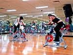 Cycle Is the indoor cycling workout, where you ride to the