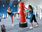 Cardio Kick A circuit style martial arts workout that combines boxing, kicks