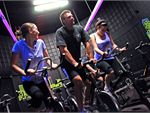 Spin What an experience! Our beautifully designed luminous spin cycle studio will