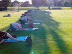 Stress Reliever This class is a yoga and pilates inspired session with