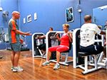 Circuit Circuit style class using our fitness studio equipment, including cycling