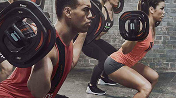 Les Mills Body Pump Woden