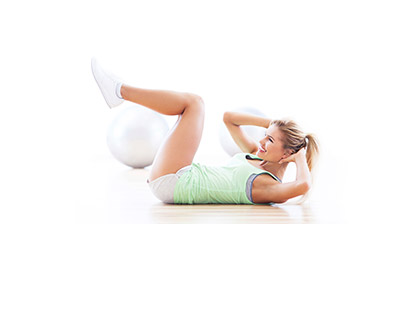 Abs and Stretch Start your day with a 45 minute abs workout and