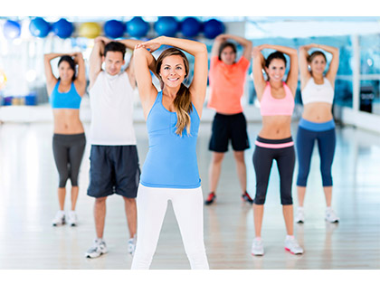 Fat Burner Traditional low impact class focusing on aerobic conditioning, muscle toning