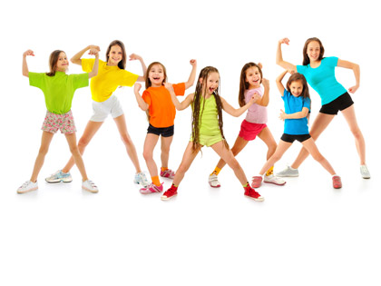 KidzFIT A free program for members' children aged between 5–12 yrs