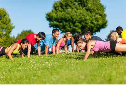 CardioBox @ the park  Sydney - A high energy fat burning workout incorporating focus pad boxing