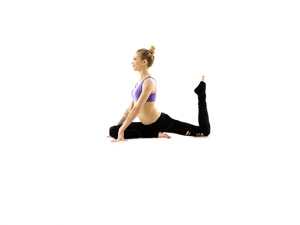 Pilates Mat Long lean muscles and a strong core are the main