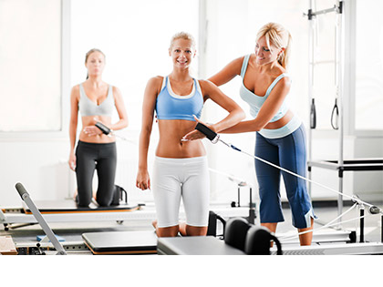 Pilates Reformer Reformer Pilates is for overall strength, flexibility, coordination and balance.