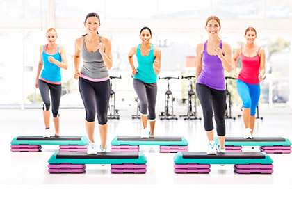 Results An interval style class combining hi-energy, step aerobics and weight-bearing