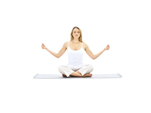 Yoga Yoga is a movement of poses, stretching and breathing to