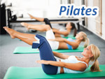 Pilates Como Pilates provides a core strength workout, stretching and learning about