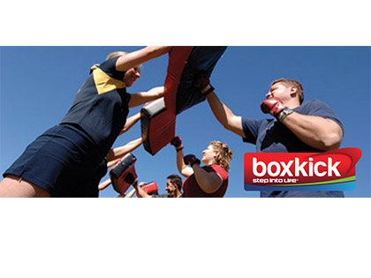 boxkick The empowering outdoor cardio and strength session combining boxing, kicking