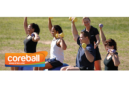coreball The perfect session to improve your core strength, posture and