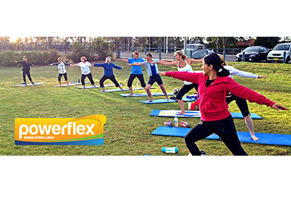 powerflex <b>*NOT A YOGA/PILATES STUDIO. OUTDOORS ONLY.</b><br>A dynamic strengthening and stretching