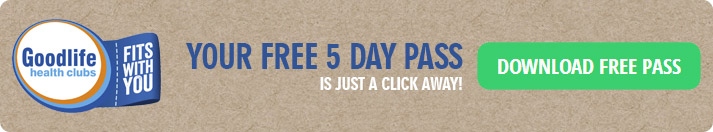 FREE 5 Day Pass to any Goodlife Health Club Australia-wide