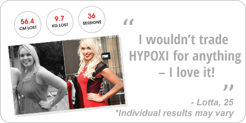 Hypoxi weight-loss testimonial 1
