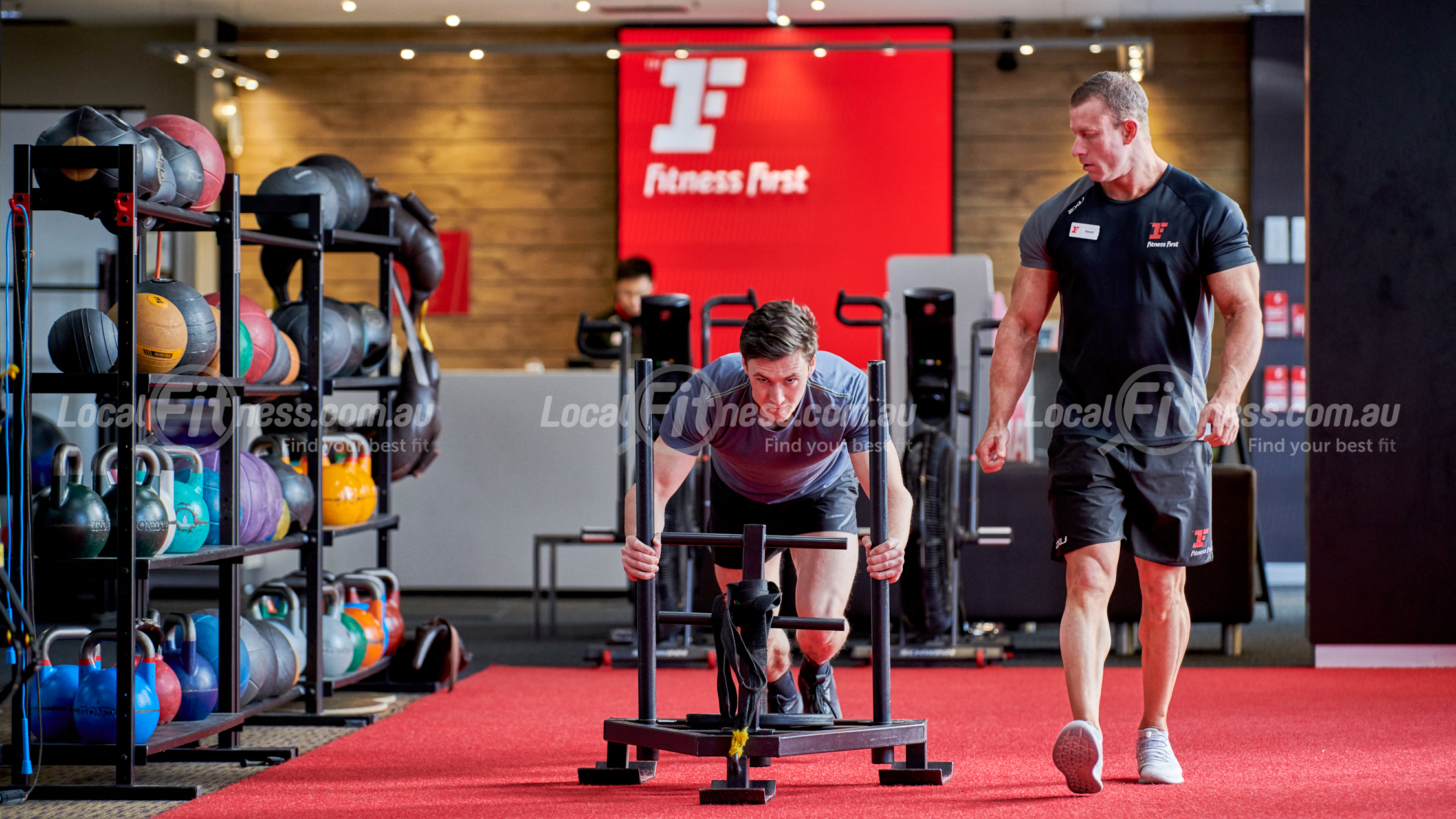 LocalFitness Professional Fitness Photography Sample 1